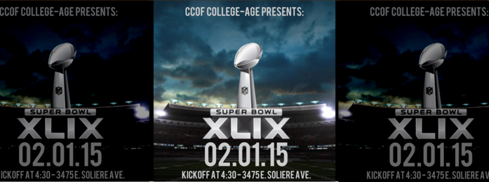 College Age Super Bowl Party